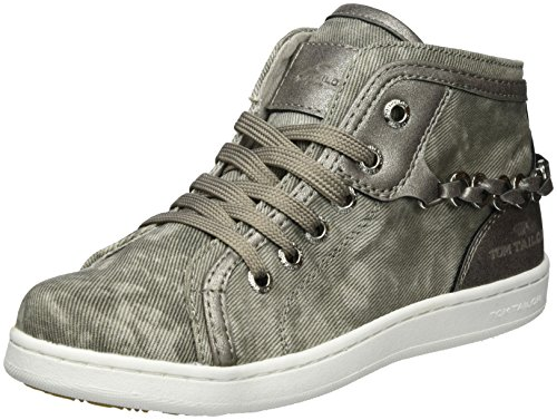 Tom Tailor Kids Mädchen 2772711 High-Top, Grau (Grey), 37 EU (Toms Kids Grau)