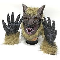 doxungo Halloween Horror Maschera del Lupo Maschera festa in costume  puntelli di tappi 703f7f3219bb