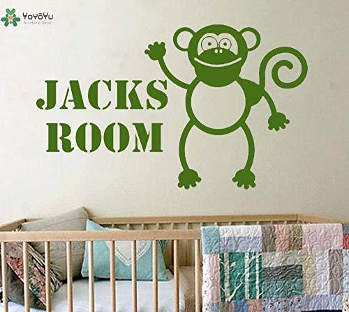 nkfrjz Abziehbild Vinyl Wall Art Sticker abnehmbare Dekor Poster wandaufkleber kinderzimmer 120X72CM
