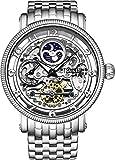 Stührling Original 411.33112 - Reloj analógico para Hombre, Correa de Acero Inoxidable