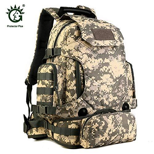 0f8ff1dcb9 CHOULI 40L Multifunctional Military Tactical Backpack Rucksack Hiking  Camping Bag ACU Digital
