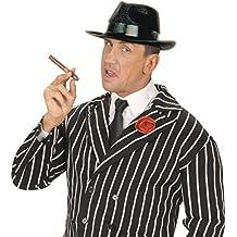 NET TOYS Cappello Blues Brothers copricapo nero da gangster per Carnevale e  travestimenti 19daff890d64