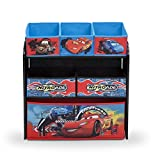 Delta TB84521CR Multi Toy Organizer - Holz mit Canvas  - Cars