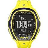 TIMEX Orologio unisex, Display digitale Sport e movimento digitale con cinturino giallo in plastica MODELLO TW5M08300, 150 Lap IRONMEN