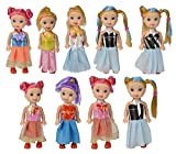 Smartcraft Adorable Mini Doll (Pack of 12) , 12 Cute Doll Set , Fashion forward Doll Set for girls
