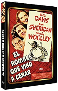 The Man Who Came To Dinner (1942) - Region 2 PAL, plays in English without subtitles