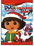Dora l'exploratrice: Livre de coloriage de Noël...