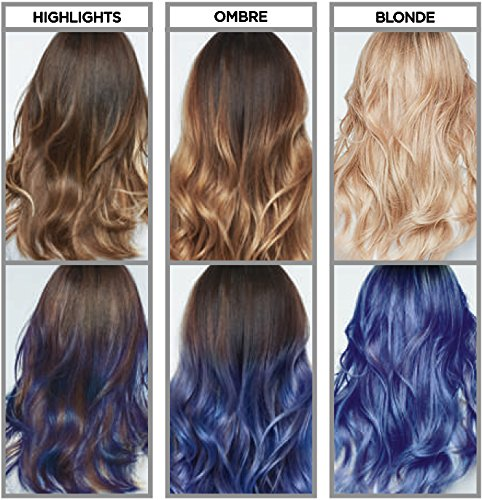 L Or 233 Al Colorista Washout Indigo Blue Semi Permanent Hair