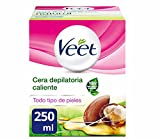 Veet Tarro Cera Depilatoria Tibia Natural Inspirations - 250 ml