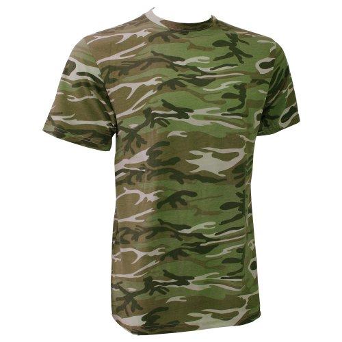Anvil Camouflage (Anvil Herren T-Shirt Camouflage (Xlarge) (Camouflage Grün))