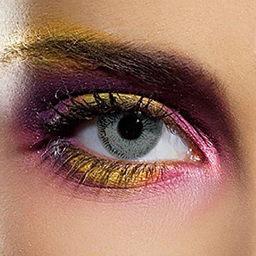Kontaktlinsen Ohne Stärke (Single Tone Grey) (Halloween-tag In Großbritannien)