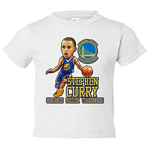 Camiseta niño Stephen Curry - Blanco, 12-14 años