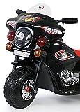Toyas Kindermotorrad Polizei Motorrad in Schwarz - 2