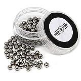 Maison & White Bolas mágicas de limpieza | Juego de bolas de acero inoxidable reutilizables para limpiar cristalería | Perlas de limpieza de botellas para decantadores, floreros y cristalería