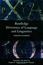 Routledge Dictionary of Language and Linguistics (Harcourt Brace Big Books) by Hadumod Bussmann (1996-05-09)