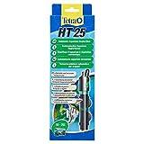Tetra HT 25 W Reglerheizer, leistungsstarker Aquarienheizer zur Abdeckung unterschiedlicher Leistungsstufen mit Temperatureinstellknopf