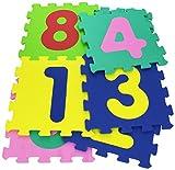 immagine prodotto Vitamina G 05094 - Mattonelle Puzzle Numeri, 9 Pezzi