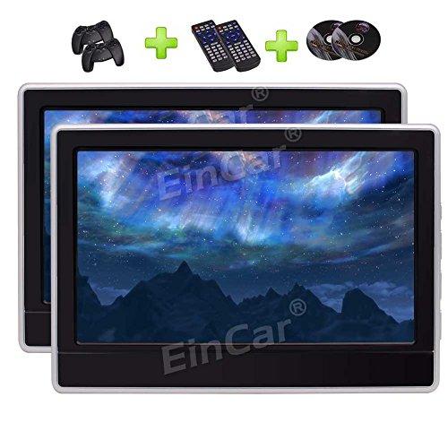 11.6' HD Digital Panel mit 1366 * 768 Auflösung Auto Auto-Monitor Kopfstütze Auto DVD-Player-Unterstützungs-USB / TF / 32 Bit-Spiel / HDMI Integrierter IR-Transmitter & FM-Transmitter