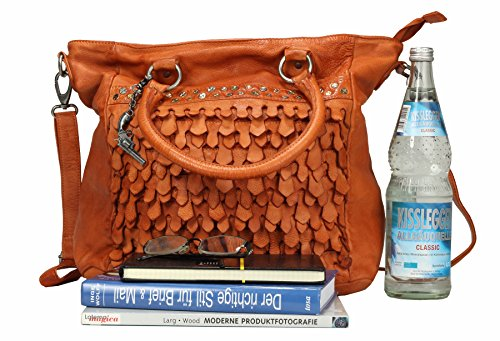 Billy the Kid Reptile Borsa tote pelle 41 cm Peach