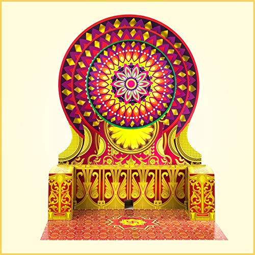 Eco-Friendly-Paper-Ganesh-Makhar-Mangalasan-3175-Inch