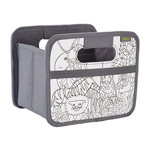 Faltbox Mini DIY Malen/Dschungel 16,5x12,5x14cm Motiv zum Ausmalen Buntstifte Geschenkbox Do it Yourself Wohnen Arbeit Kreativ (Do It Yourself-schreibtisch)