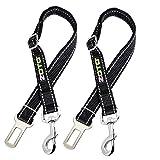 Z ZOTO Pet Dog Seatbelt Harness,2 Pack 56-80cm Adjustable...