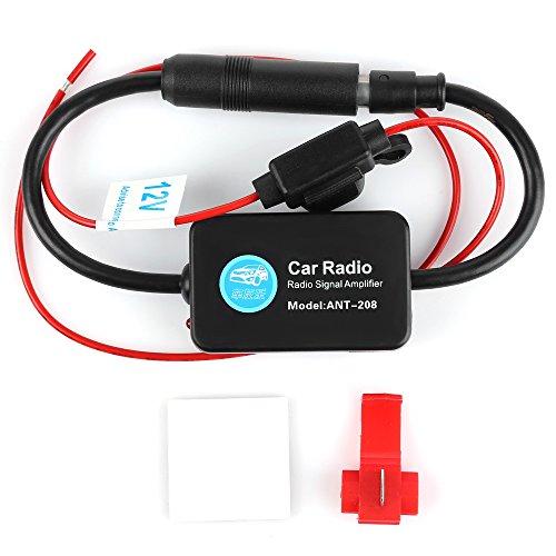 12-V-/500Auto Radio AM/FM Antenne Signal Verstärker für Auto, Boot, Wohnmobil