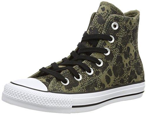 Converse Ctas Animal Hi, Unisex - Erwachsene Hohe Sneakers Mehrfarbig (Green/Black/White)
