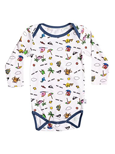 Quiksilver Mr Men Body - Super-Soft Long Sleeve T-Shirt - Bebé