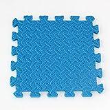 XNPP Cucitura del tappetino per addensare il fogliame ambientale. Tappetini puzzle EVA 30 * 30 schiuma per bambini , blue , 30*30*1.2 (export boutique)