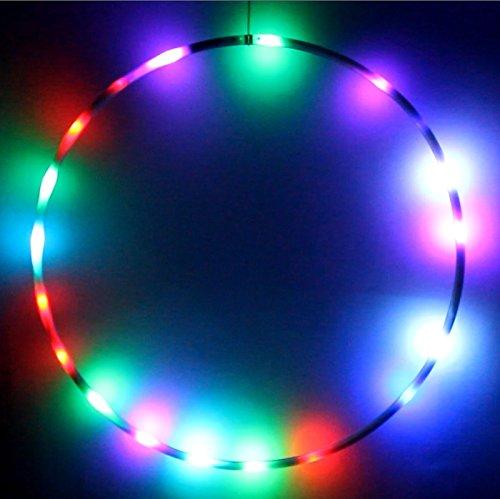 Hoopomania LED Hula Hoop Reifen, unterschiedliche Ausführungen und Durchmesser