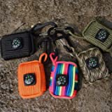 #8: 10 In 1 Mutifunctional Outdoor Fishing Paracord 550 Survival Kit Emergency Kit Fish Bag-parent