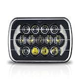 Republe Impermeabile da 7 pollici ad alta sbarra rettangolare LED fari Head Light per la jeep 6X7 5X7