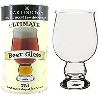 Dartington Bere Ultimo Regalo Bicchiere Di Birra - Sapore Pinta (Confezione da 2)