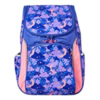 Smiggle Seek Reflective Access School Backpack for Boys & Girls with Laptop Compartment