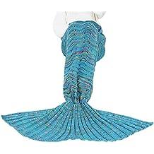 Triseaman Mujer Silla de sirena Funda Sofá Salón Bolsa de dormir Tres tamaños Disponible LakeAzul mujer