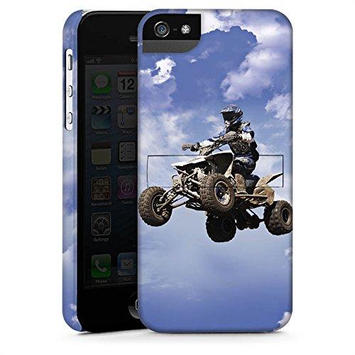 Apple iPhone 4 Housse Outdoor Étui militaire Coque Quad Motocross Sport CasStandup blanc