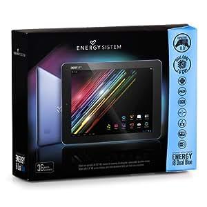 "Energy Sistem™ Internet Media Tablet Energy Tablet i8 Dual 8GB Blue Metal (8"" HD, DUAL CORE, SLIM)"