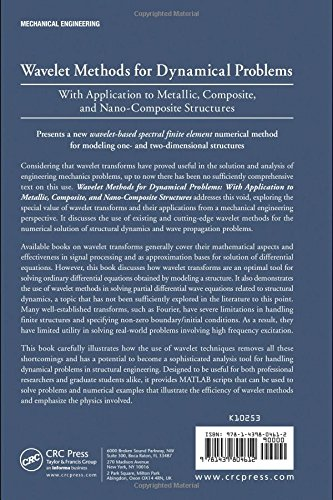 Wavelet Methods for Dynamical Problems: With Application to Metallic, Composite, and Nano-Composite Structures
