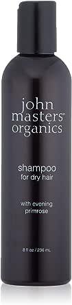John Masters Organics Shampoo per Capelli Secchi all'Enagra, Marrone, 236 Millilitri