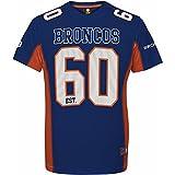 Majestic Denver Broncos Moro Est. 60 Mesh Jersey NFL T-Shirt XXL