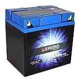 Batteria Litio SHIDO lix30l BS/Yix30l BS quattro, 12V/30ah (dimensioni: 166X 126X 175) per Harley Davidson flhri 1450Road King anno 2007