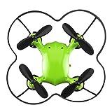 Virhuck Volar-360 RC Nano Pocket Drone Quadcopter, 2,4 GHz 4,5 CH 6 AXIS 360 Grad Flip Mini Drone Helicopter - Gr¨¹n