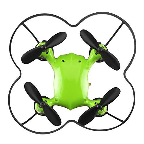Virhuck Volar-360 RC Nano Cog Drone Quadcopter, 2,4 GHz 4,5 CH 6 AXIS 360 Grad Plop down Mini Drone Helicopter - Gr¨¹n