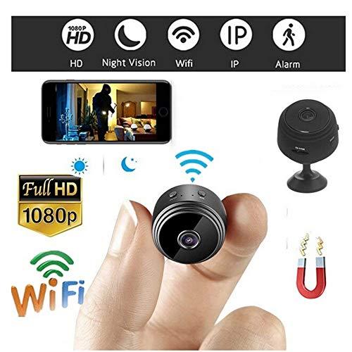 Colorful Mini Kamera, HD 1080P Tragbare Kleine Überwachungskamera, Sport HD DV Kamera,Mikro Nanny Cam mit Bewegungserkennung und Infrarot Nachtsicht, Compact Sicherheit Kamera für Innen und Aussen (Sport-mini-cam)