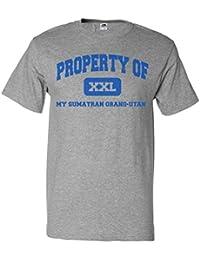 ShirtScope Property of My Sumatran Orang-utan T shirt Funny Tee