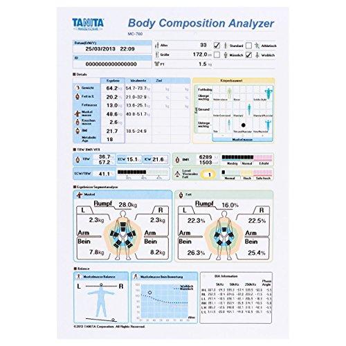 TANITA Körperanalysewaage MC 780 MA - 5