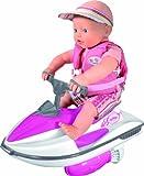Zapf Creation 813065 - my little BABY born Puppe und Wasserspaß Jetski