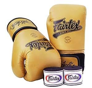 Gants de boxe Muay Thai Fairtex bgv1édition limitée marron classique Taille: 10121416oz Formation Gants d'entraînement pour boxe MMA K1 Classic Brown 360ml (12 oz)