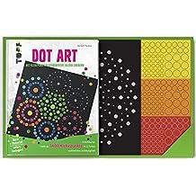 Dot Art: Mit Klebepunkten farbenfrohe Bilder zaubern